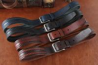 Genuine Leather Designer Belts For Men New Famous Brand Men Belt Leather Casual Cinto Masculino Ceinture Man Luxury MBT0203