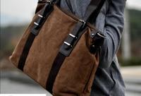 New Hot Sale Men's Canvas Casual Laptop Bag Messenger Bags Shoulder Bags Handbags  Fashion Designer Cross Body Bag High Quality