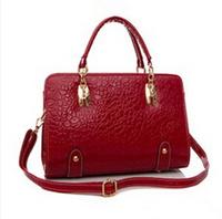 2014 famous brand women PU leather crocodile grain Handbag Shoulder Bag Messenger Bags   lady pouch  fashion totes s4818