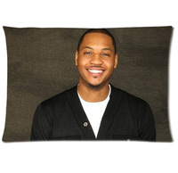 Decorative carmelo anthony Pillow Cases 20 x 30 inch High Workmanship