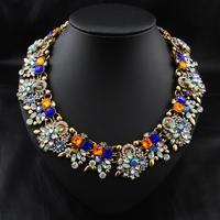 Wholesale Brand Collar Necklace Perfume women fashion jewelry necklaces & pendants Vintage Choker Statement Necklace