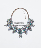 bijouterie fashion jewelry for women 2014 choker collar chunky bib za shell statement Necklaces & pendants LM-SC894