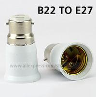 B22 to E27 Base LED Light Lamp Bulb Adapter Converter