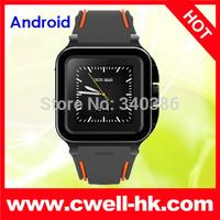 "UNOVA IRON MAN ip67 Watch Phone waterproof 1.54"" dual core 1GRAM 8GROM Android 4.4 smart watch bluetooth 3G GPS ZGPAX S5 killer"