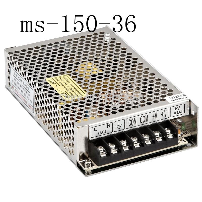 Импульсный блок питания N/A 36v 150w 36v 4.2a suply 150w 36v ac dc ms/150/36 ms-150-36 36v 1 3 ач