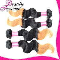 Beauty Forever Hair 6A Ombre Virgin Hair Body Wave 100% Ombre Human Hair Extensions Two Tone Color Filipino Virgin Hair BFTBW009