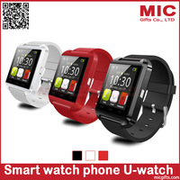 Bluetooth Smart Watch WristWatch U8 U Watch for iPhone 5S Samsung S4/Note 2/Note 3 HTC Android Phone Smartphones P372