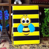 2014 Cartoon Bee 3D stereo sets passport holder passport documents Taoka package - essential travel abroad
