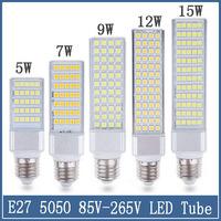 1x E27 led Corn Lamp 5W 7W 9W 12W 15W Bulb SMD 5050 Down light 110V 220V 90V-260V indoor Lighting Floodlight Project Spotlight