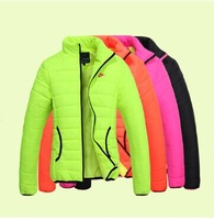 Free shipping! The new female models thick winter warm cotton padded jacket women's sport coat jacket