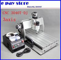 free shipping ,220V, CNC router 3040T-DJ Engraver Machine CNC3040