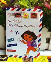 2014 Duoladuola cartoon passport cover passport holder sets of documents - essential travel abroad