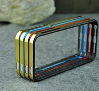New Sword Double Color Aluminium Border Bumper Metal Phone Case Cover for iPhone 5 5S