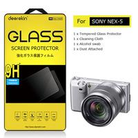 Deerekin Tempered Glass LCD Screen Protector for Sony Alpha NEX-5 NEX 5 NEX5 Digital Camera Shield Film