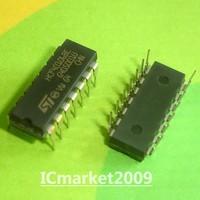 100 PCS HCF40106BE HCF40106 DIP-16 HEX SCHMITT TRIGGERS