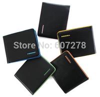 2014 new Men's short a wallet color edge men's wallet 200pcs