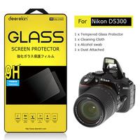 Deerekin Tempered Glass LCD Screen Protector for Nikon D5300 Digital SLR Camera Shield Film