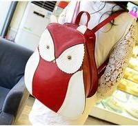 2014 new handbag shoulder bag owl sweet lady leisure bag schoolbag