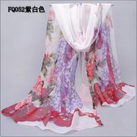 2014 thin chiffon silk scarf women's scarf  autumn SCARF
