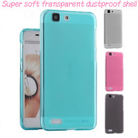 Free Shipping Top Quality (10pcs/lot) TPU  case with Dust Proof Plugs for Lenovo A360T case cover