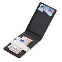 Fashion Mens Wallets Man Purse Genuine Leather Mini Wallet Black/Brown Card Holder