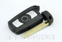 Remote Smart Key Blank Shell Case Keyless Fob Cover Fit For BMW 1 3 5 6 Series E90 E92 128i 135i 335i xDrive 528i 535i No Chip