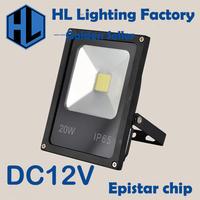 Newest DC 12V LED luminaire light 10W 20w 30w 50w IP65 LED Flood Light Floodlight LED street Lamp Free Shipping