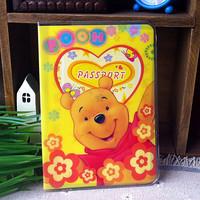2014 Cute Bear Passport Holder Passport Holder ID Card Holder Case - essential travel abroad to study