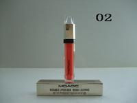 new popular!1pcs retail 2014 new high quality NO2043 makeup lip gloss,make up lipgloss free shipping