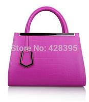 Summer women fashion handbags solid zipper versatile good quality 8 colors to choose free shipping