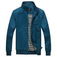 Paragraphs thin man jacket in the spring of men's big yards jacket collar jacket