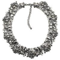 G2201 NEW 2014 Z design high quality chocker chunky bib necklace & pendant chunky bib necklace for fashion women jewelry