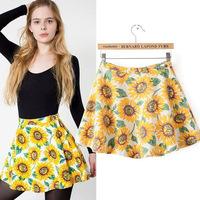 #YZX729 New 2014 Fashion Women Girls' Mini Short Skirts Lovely Denim Skirt Free Shipping