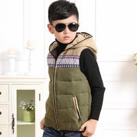 2014 new vest  boy children down  jacket down jacket baby thickened vest