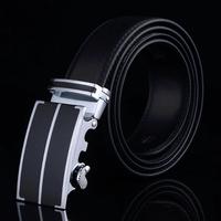 Men's Genuine Leather Business Belt Plus Size Straps Cinturon Second Layer Cowskin for Gift Cintos Men pk479-T0