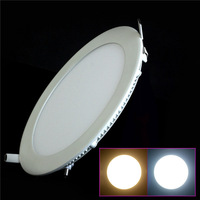 10pcs/lot 3W/4W/6W/9W/12W/15W cold white/warm white AC85-265V 170~1335lm 2835smd led ceiling lamp