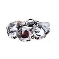 Copper transparency crystal bracelet, portrayal geometric bracelet, fashion and classic bracelet