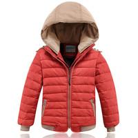 2014 new fashion children down jacket boy short boy down jacket winter thickened down jacket sale