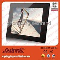 Big screen digital photo frame support music/video OEM muti-functional large size big screen 14 inch lcd digital photo frame
