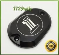 Reservoir Master Cylinder Cover for Harley Davidson XL883 1200 Sportster Iron FHADA028BK