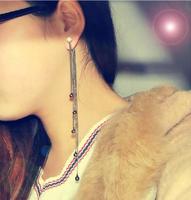 Fashion eardrop female Asymmetric personality stud earrings Women earrings  Free Shipping
