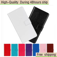 High Quality Crazy Horse Flip Leather Wallet Case Cover For LG Google Nexus 5 E980 Free Shipping China Post Air Mail