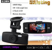 HOT SALE Car DVRS G1WH 2.7-inch Full HD 1080P Car Dash VR Camera Recorder G-sensor Novatek NT96650