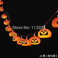 LED Illumination Luminary Lamp Chandeliers Luminaria Halloween Decoration Lamps Luminous Pumpkins Pendant String Lights Lighting