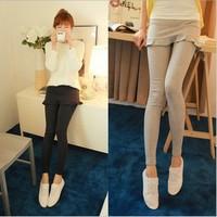 Autumn korean high elasticity Fungus hem fish tail culottes one piece ankle-length legging women pantskirt
