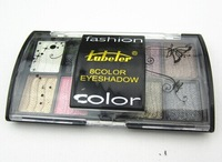 Fashion charm makeup 2014 new 8 colors eyeshadow Palette with Brush High Quality Good Price