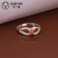 R289  925 Sterling silver  new design finger ring for lady