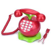 Novelty  Fruit Shape Corded Digital Telephone Landline SpeakerPhone for kid