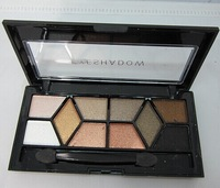 Top Sale 10  Color  Diamond Professional Makeup palette Eye Shadow Natural Luminous Warm Color Make Up