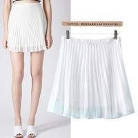 #YZX735 New 2014 Fashion Women Girls' Mini Short Skirts Lovely Denim Skirt Free Shipping